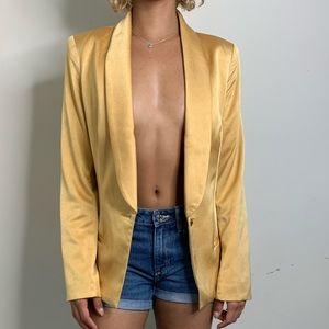 HOUSE OF CB Gold Blazer
